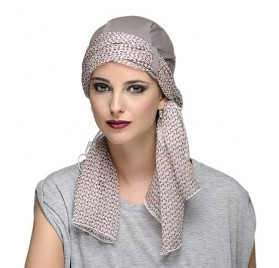 TWIN CHIC GRIS ARENA - Base + 1 Foulard