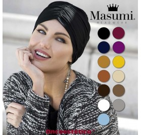 ROSALIND - Turbante Algodón - Varios Colores - MASUMI HEADWEAR