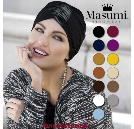 TROSALIND - Turbante Algodón - Varios Colores - MASUMI HEADWEAR