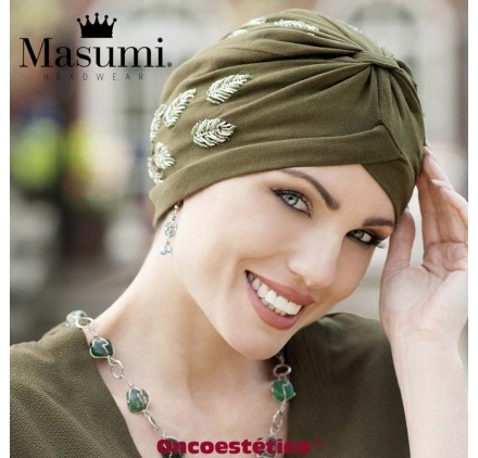 TURBANTE DIAMOND BLACK GOLDEN SHELL