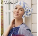 ELLONE GREEK - Pañuelo Cintas Largas Lino - CHRISTINE HEADWEAR