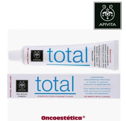 APIVITA DENTÍFRICO TOTAL. Protección Natural TotalNATURAL DENTAL CARE