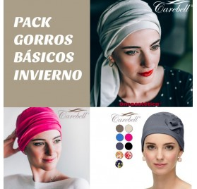 PACK GORROS BASICOS INVIERNO CAREBELL