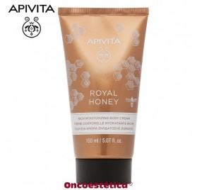 APIVITA ROYAL HONEY Crema Corporal Hidratante Rica