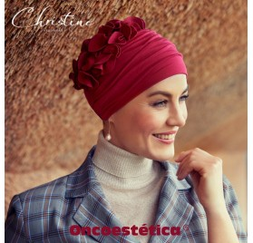 NADI RED - Turbante Bambú - CHRISTINE HEADWEAR