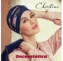 SHANTI BLUE FLOWERING - Turbante de Bambu - CHRISTINE HEADWEAR