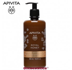 APIVITA ROYAL HONEY Gel de Ducha con Aceites Esenciales 500ml