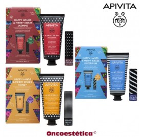 APIVITA PACK HAPPY HANDS & MERRY KISSES Manos y Labios