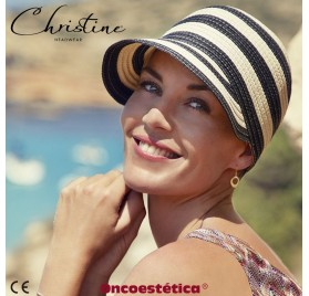 SUMMER STRAW - Gorra con visera - CHRISTINE HEADWEAR