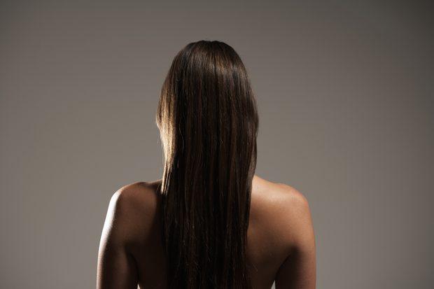 cabello debilitado