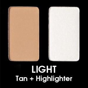 Light - Claro (Tan + Highlighter)