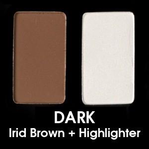 Dark - Oscuro (Irid Brown + Highlighter)