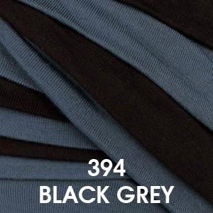 394 Gris Azulado y Negro