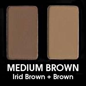 Medium Brown (Irid Brown + Brown)