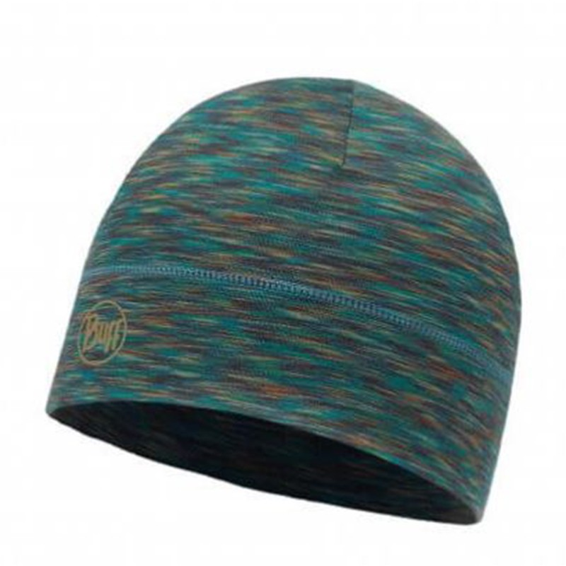 buff cotton-merino wool hat