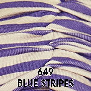 649 Blue Stripes